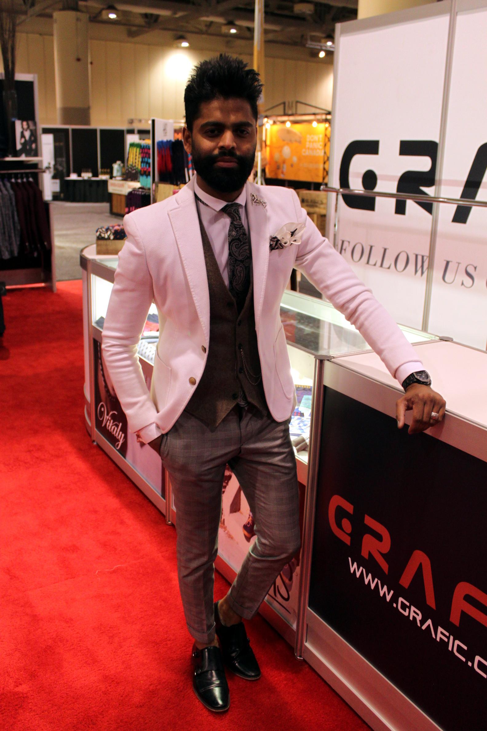Blogger Grafic Booth Gentlemens Expo