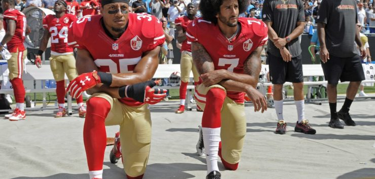 NBA Sides with Kaepernick