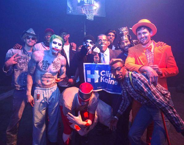 NBA Halloween 2016