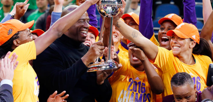 Sparks win Title