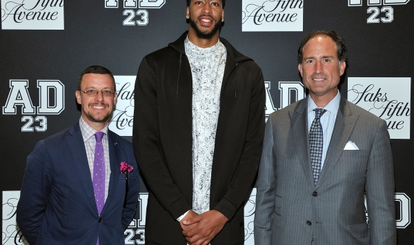 Saks Fifth Avenue X Anthony Davis
