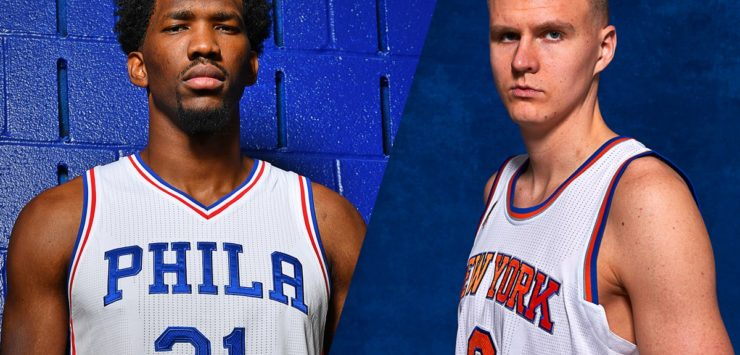 NBA big men, Embiid, Porzingis