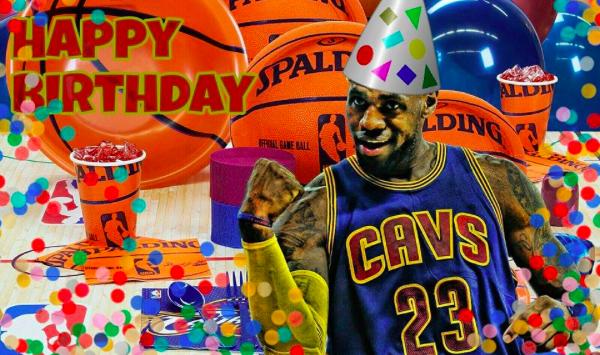 LeBron's Birthday