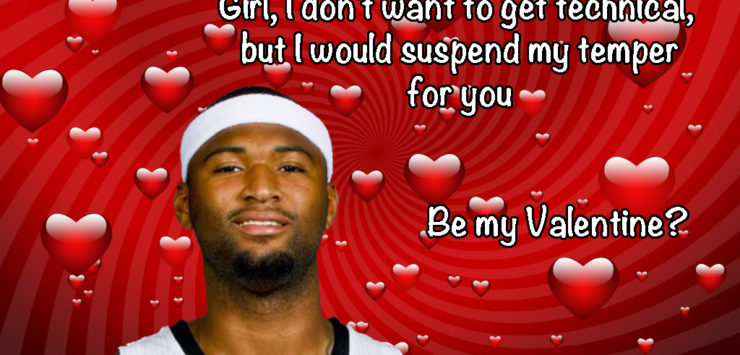NBA Valentine's Day
