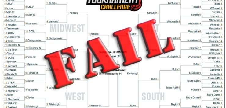 Bracket Busted, Duke Falls