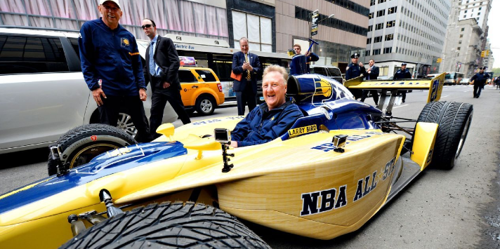 Larry Bird Done with Pacers