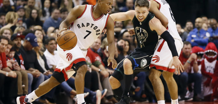 Raps take Game 2 over Bucks