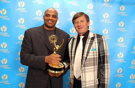Sager, Barkley win Sports Emmy Award