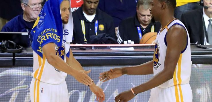 Durant, Curry Take Down Cavs in Game 1