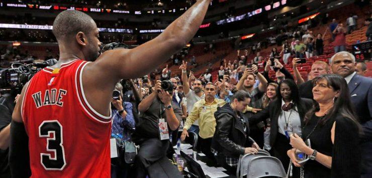 Wade Staying Put