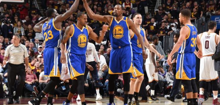 Warriors Stun Cavs in Game 3