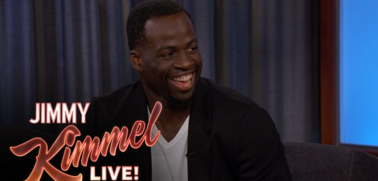 Draymond Victory Tour at Jimmy Kimmel Show