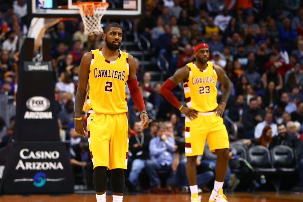 Irving-James Meet, James Leaving Cleveland?