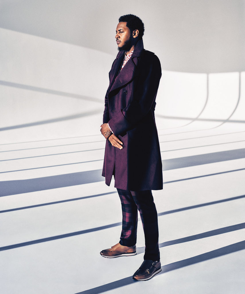 Melo Opens Up on Brand, Fashion with Gotham Magazine