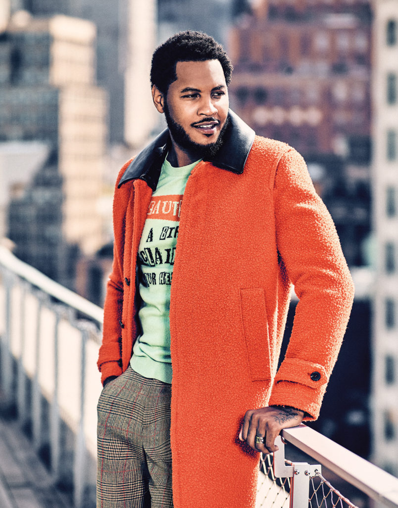 Melo Talks Fashion