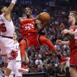 Raptors Win Opener in Laugher
