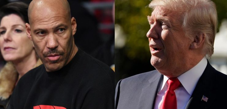 LaVar vs. Trump