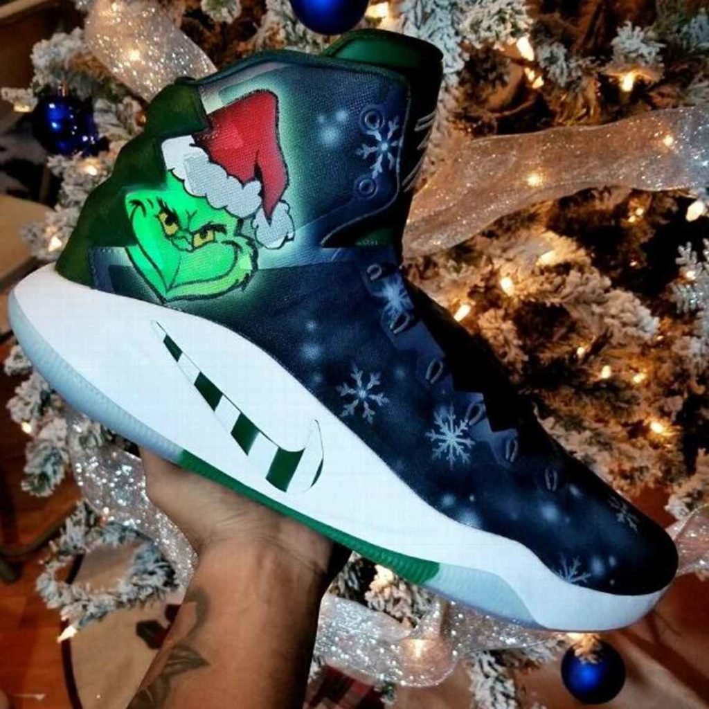 Christmas Kicks Look Fire