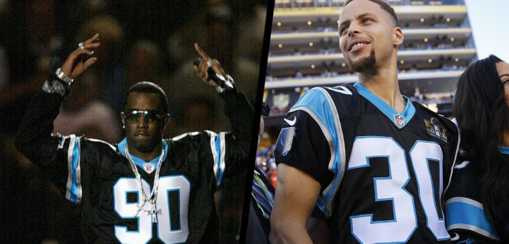 Curry Wants in on Panthers Bid