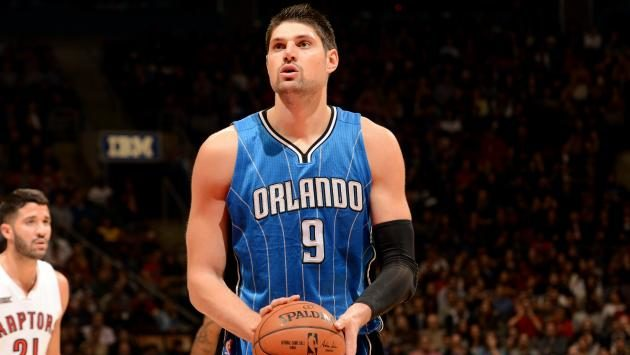 Vucevic Out with Broken Hand