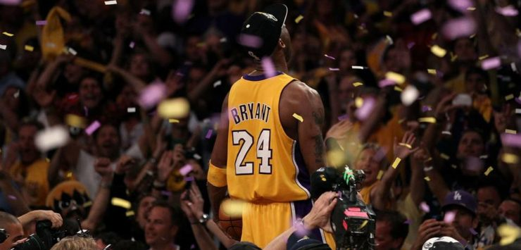 Bryant's Jerseys Retired by Lakers