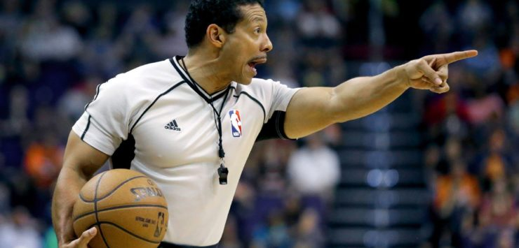 NBA Refs Train Too