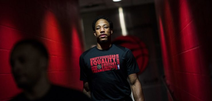 DeRozan Shows Strength in Speaking Out