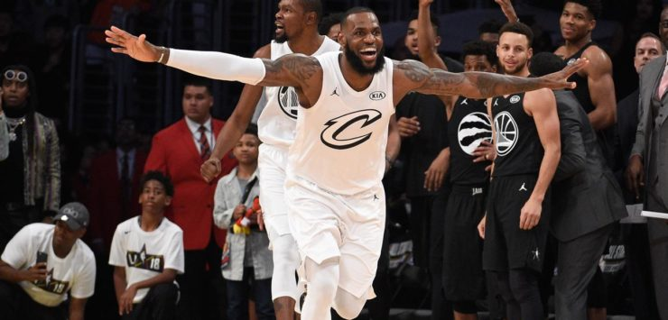 Team LeBron Wins at ASG