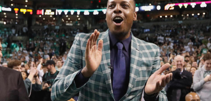 Pierce's Number retired by Celtics