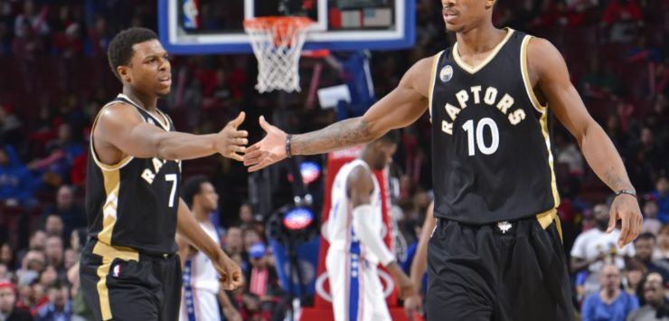 DeRozan, Curry Named Players of the Month