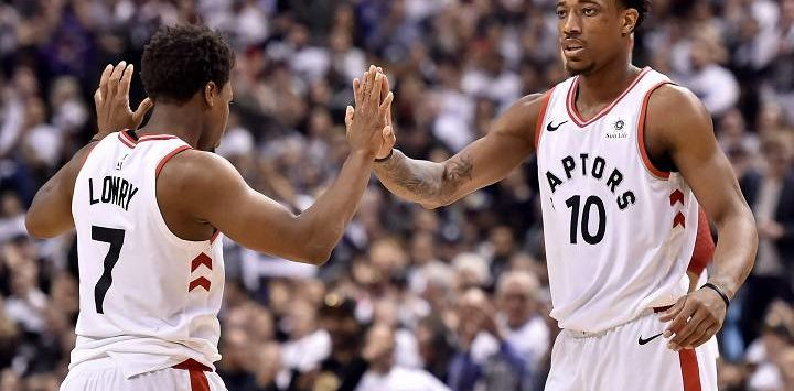 DeMar DeRozan Leads Raps to Game 2 Win over Wizards
