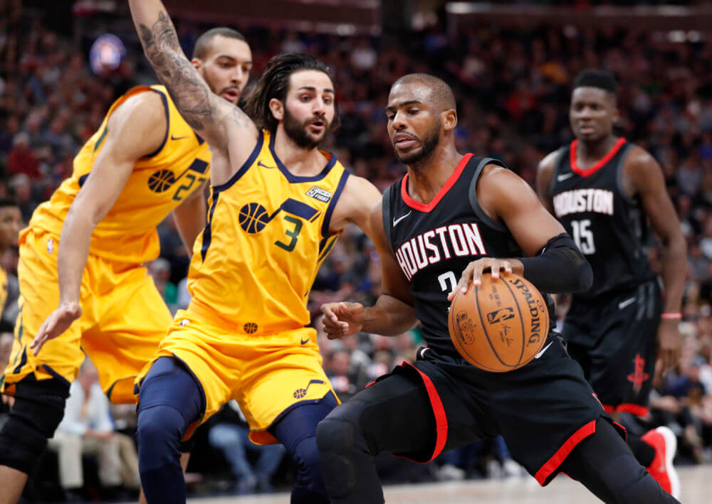 Jazz vs. Rockets Playoff Preview
