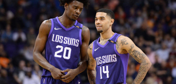 Suns Clinch Top Lottery Odds