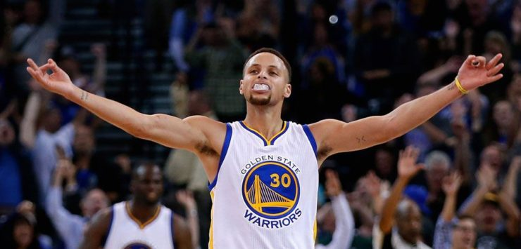 Curry, James, Durant Lead Pack for Jersey Sales