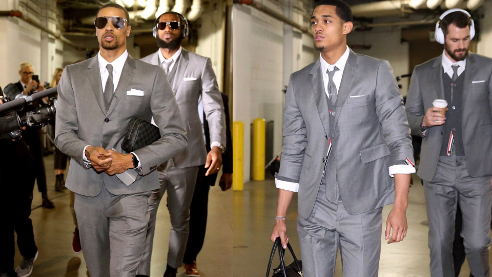 Cavs in SUits