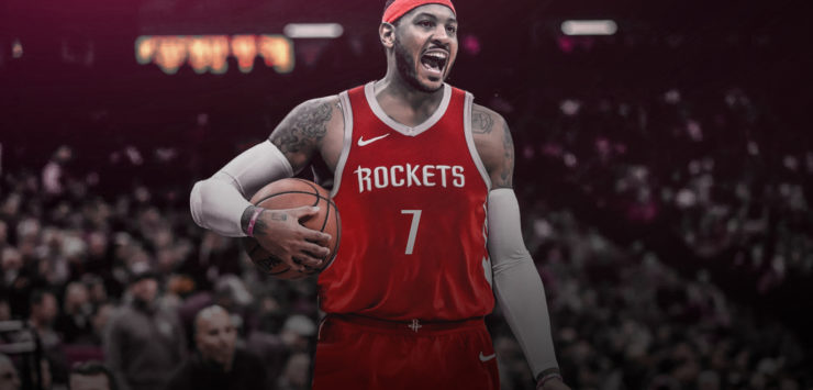 Anthony to Rockets