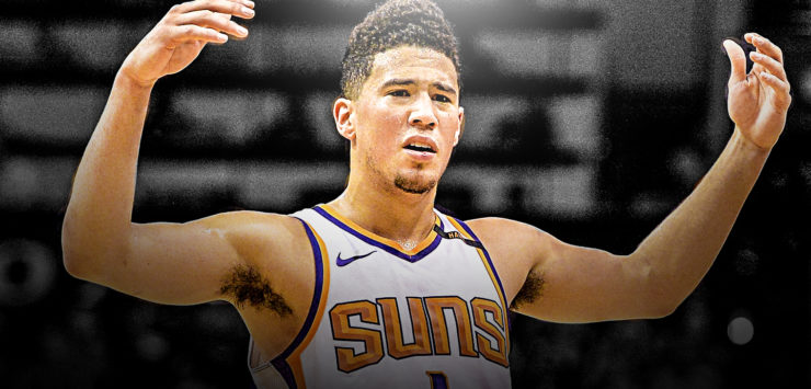 Booker, Suns Talking Extension