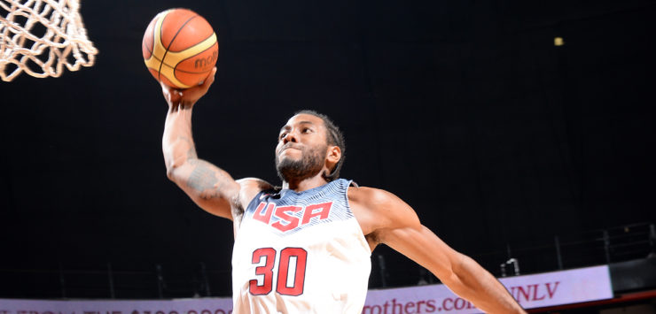 Kawhi to Team USA