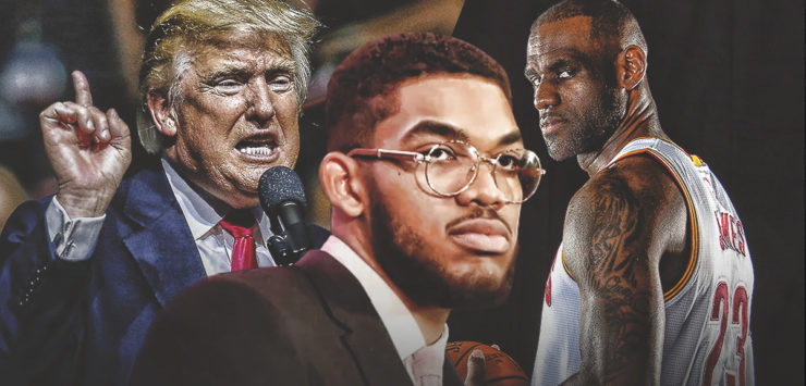 NBA Stars React to Trump's Tweets