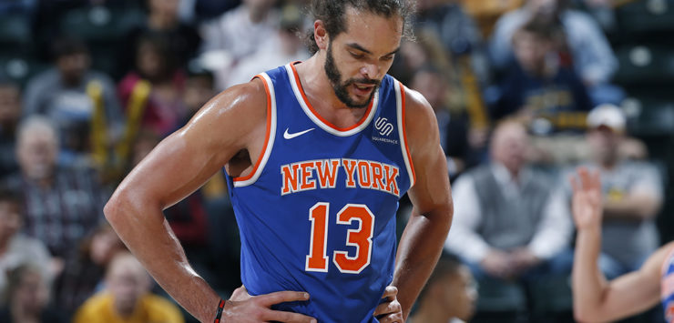 Knicks Done with Noah?