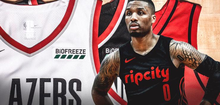 Lillard, Blazers Sign Deals with Biofreeze