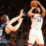 Powell Leads Way for Raptors