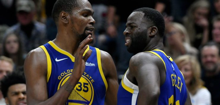 Durant, Green Involved in Heated Exchange