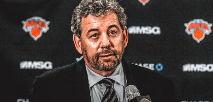 Selling the Knicks?