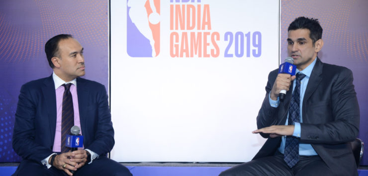 NBA India Game 2019