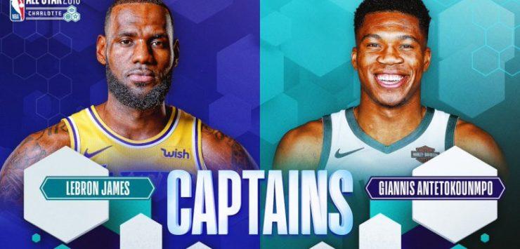 NBA All-Stars Starters 2019 Picked