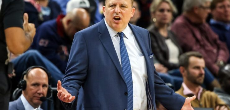 Thibodeau Fired by Wolves