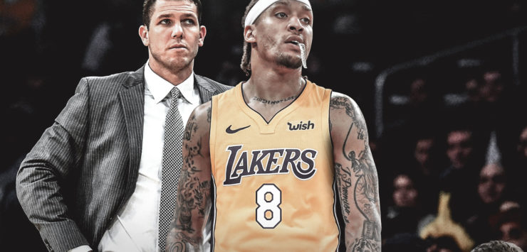 Lakers Involved in Heated Spat