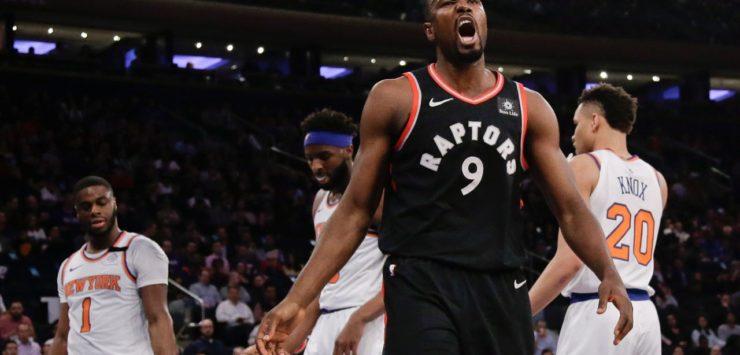 Raptors Down Lowly Knicks