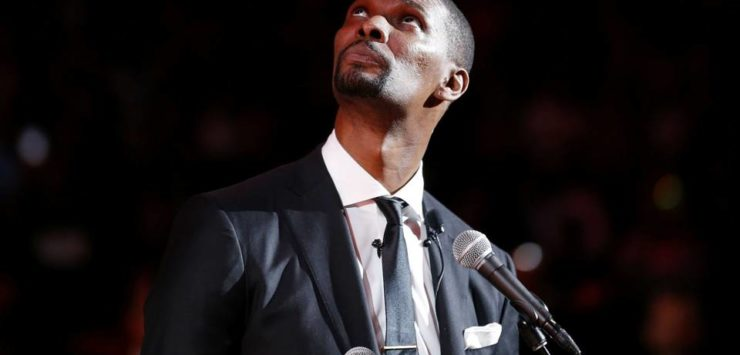 Bosh's Number Retired by Heat